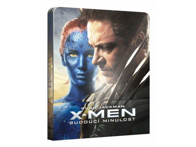 X-Men: Budoucí minulost  (Steelbook, 3D)