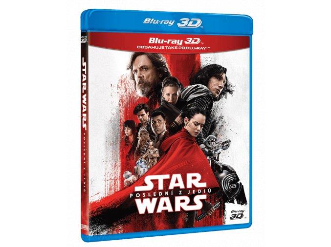 Star Wars: Poslední z Jediů (Blu-ray 3D + Blu-ray 2D + bonusový Blu-ray)