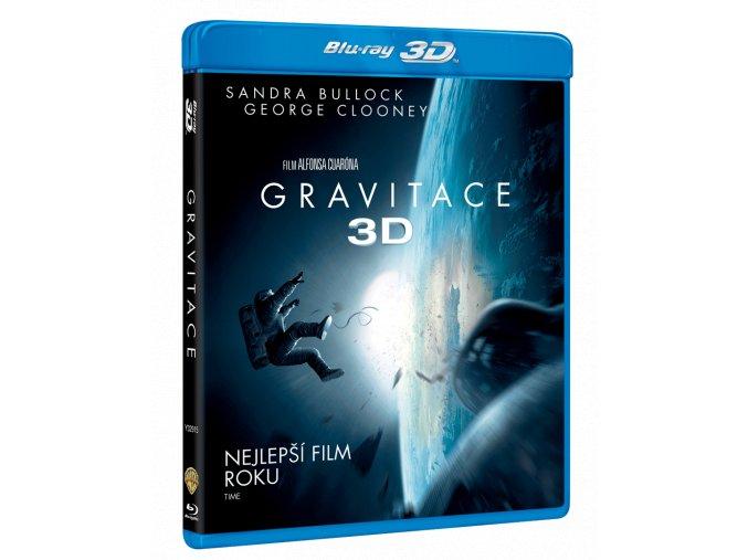 Gravitace (Blu-ray 3D + Blu-ray 2D)
