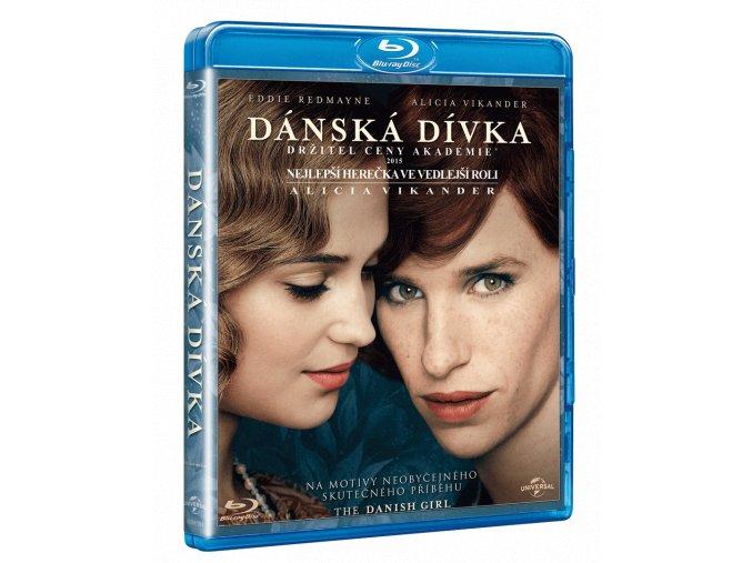 Dánská dívka (Blu-ray)
