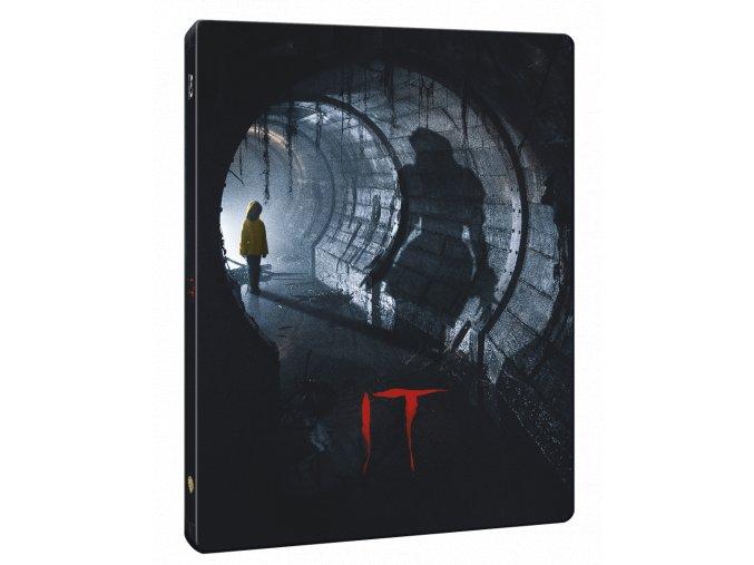 To (2017, Blu-ray, Steelbook)
