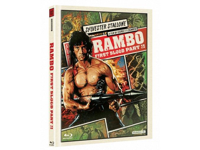 Rambo II (Blu-ray, Digibook)