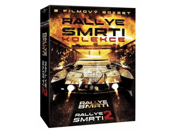 Rallye smrti (Blu-ray kolekce, 1. a 2. díl, 2x Blu-ray)
