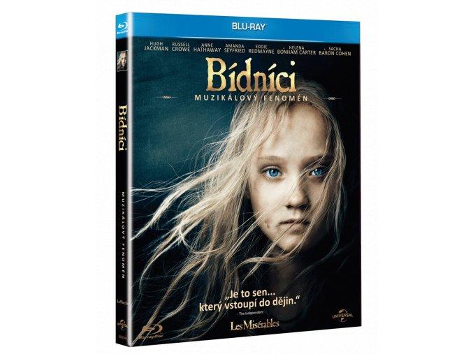 Bídníci (Blu-ray + CD se soundtrackem, Digibook)