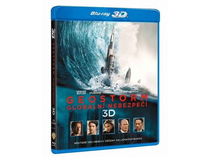 Geostorm - Globální nebezpečí (Blu-ray 3D + Blu-ray 2D)