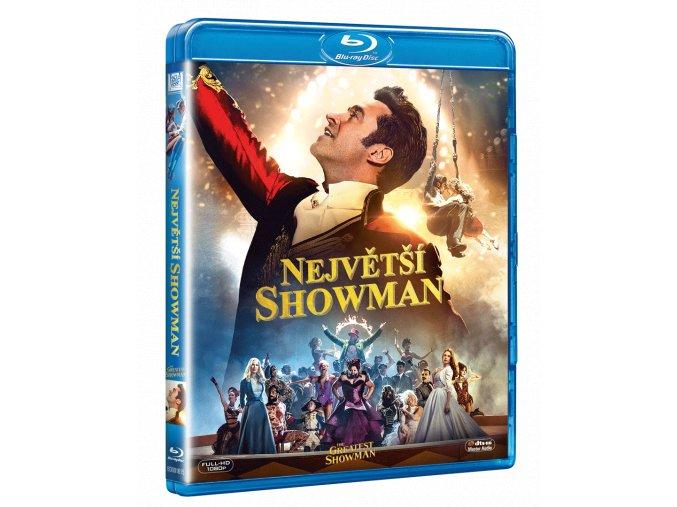 Největší showman (Blu-ray)