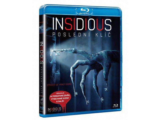 Insidious: Poslední klíč (Blu-ray)