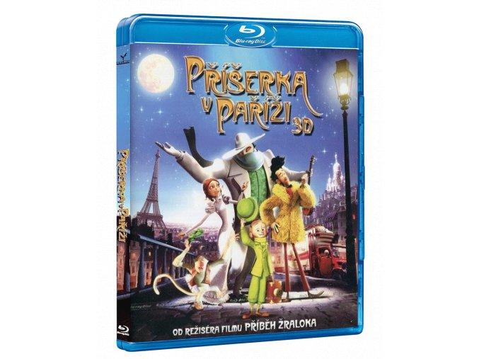 Příšerka v Paříži (Blu-ray 3D + 2D)