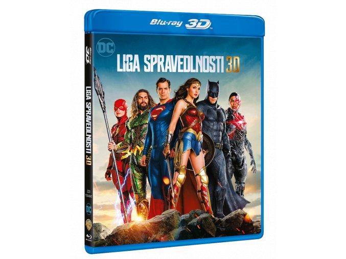 Liga spravedlnosti (Blu-ray 3D + Blu-ray 2D)