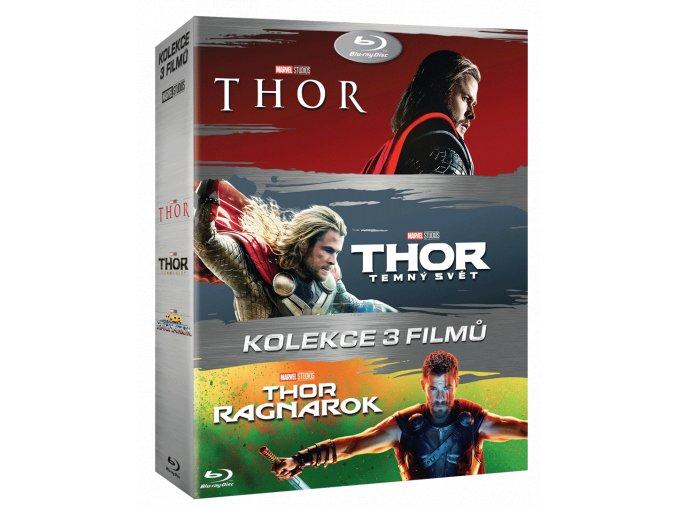 Thor (Kolekce 1-3, 3x Blu-ray 2D)