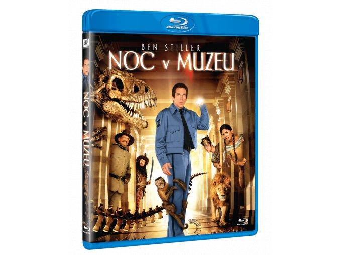 Noc v muzeu (Blu-ray)