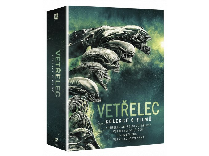 Vetřelec 1-6 (Blu-ray kolekce, 6x Blu-ray)