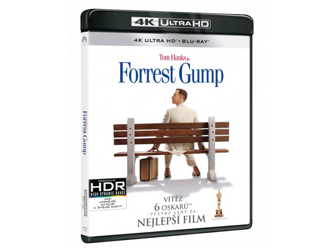 Forrest Gump (4k Ultra HD Blu-ray + Blu-ray)