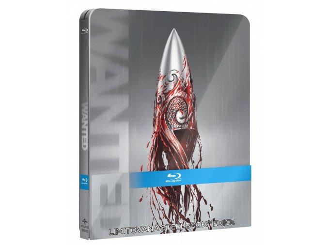 Wanted (Blu-ray, Steelbook)