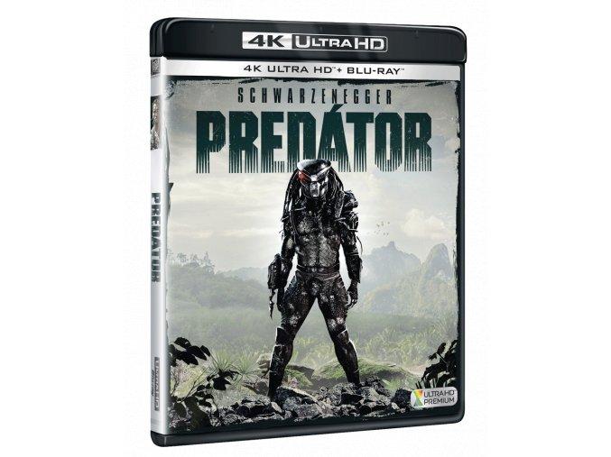 Predátor (4k Ultra HD Blu-ray + Blu-ray 3D)