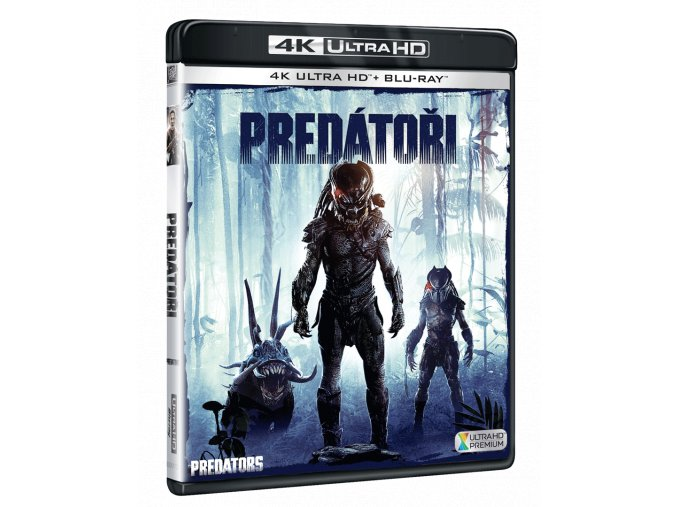 Predátoři (4k Ultra HD Blu-ray + Blu-ray)
