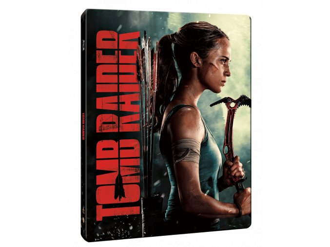 Tomb Raider (2018, Blu-ray, Steelbook)