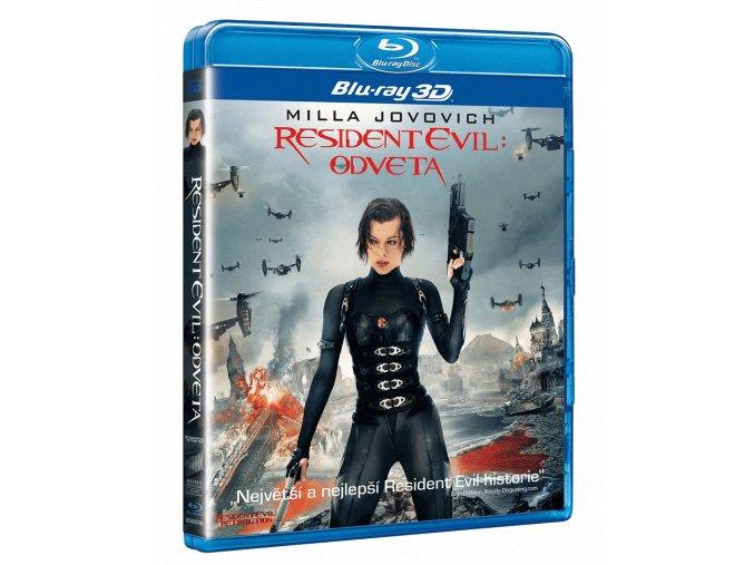 Resident Evil: Odveta (Blu-ray 3D + Blu-ray 2D)
