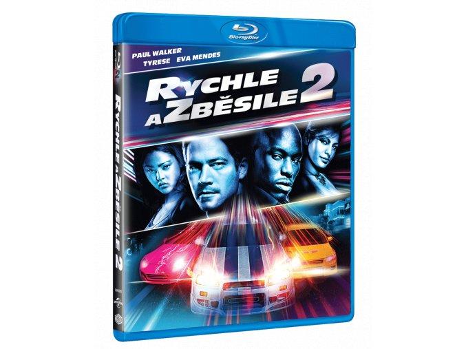 Rychle a zběsile 2 (Blu-ray)