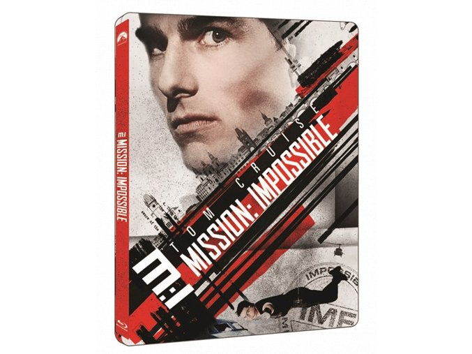 Mission: Impossible (4k Ultra HD Blu-ray + Blu-ray, Steelbook)