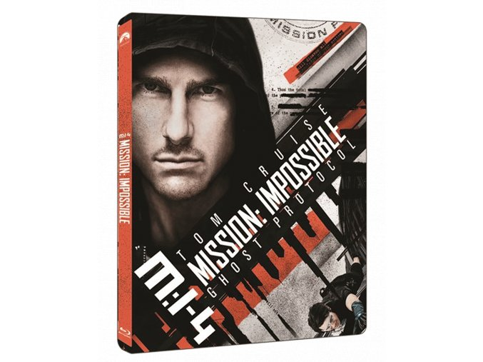 Mission: Impossible - Ghost Protocol (4k Ultra HD Blu-ray + Blu-ray, Steelbook)