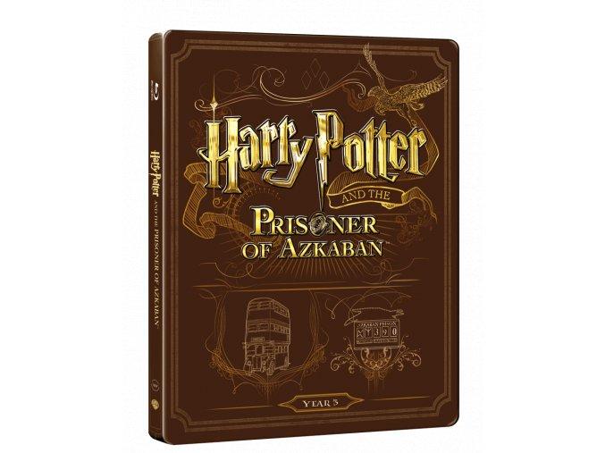 Harry Potter a Vězeň z Azkabanu  (Steelbook)