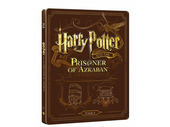 Harry Potter a Vězeň z Azkabanu  (Steelbook)