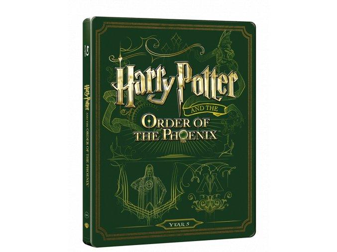 Harry Potter a Fénixův řád  (Steelbook)