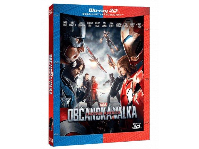 Captain America: Občanská válka  (3D)