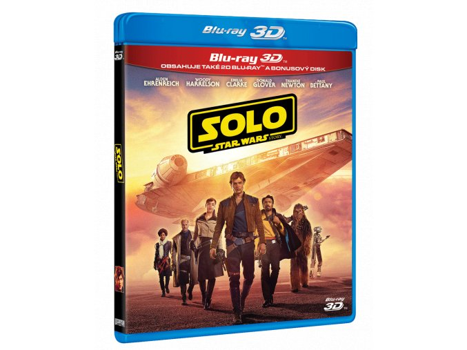 Solo: Star Wars Story (Blu-ray 3D + Blu-ray 2D)