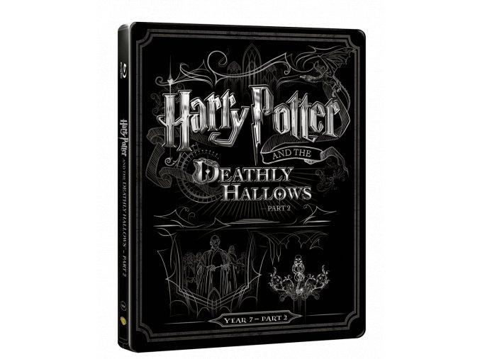Harry Potter a Relikvie Smrti - část 2.  (Steelbook)