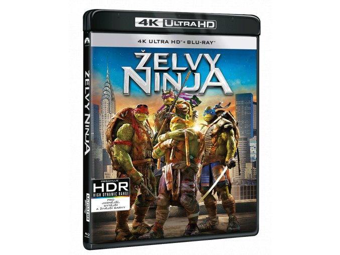 Želvy Ninja (4k Ultra HD Blu-ray)