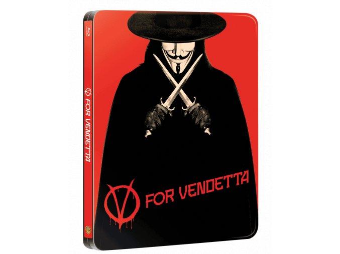 V jako Vendeta  (Steelbook)