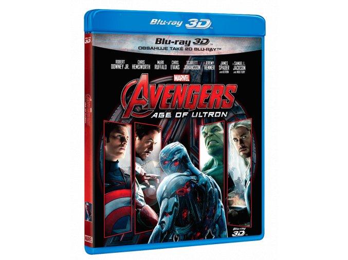 Avengers: Age of Ultron (Blu-ray 3D + Blu-ray 2D)