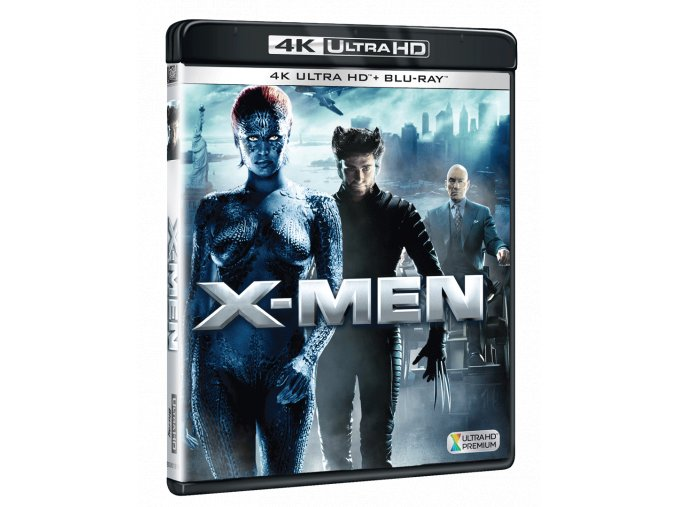 X-Men (4k Ultra HD Blu-ray + Blu-ray)
