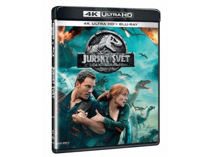 Jurský svět: Zánik říše (4k Ultra HD Blu-ray + Blu-ray)