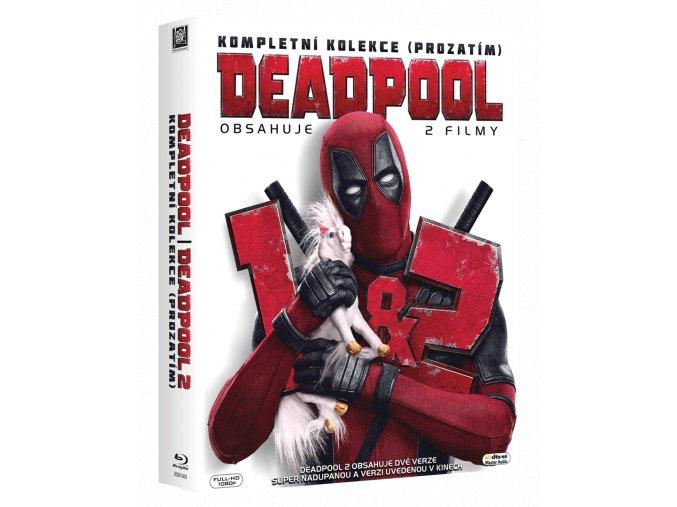 Deadpool 1 a 2 (Kolekce, 3x Blu-ray)