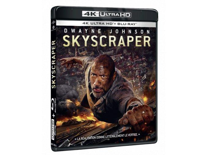 Mrakodrap (4k Ultra HD Blu-ray + Blu-ray)
