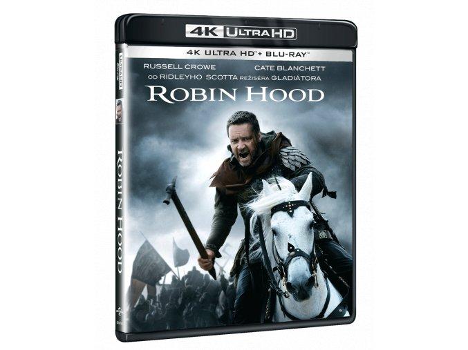Robin Hood (2010, 4k Ultra HD Blu-ray + Blu-ray, Původní i rozšířená verze)
