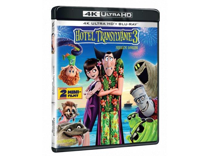 Hotel Transylvánie 3: Příšerácká dovolená (4k Ultra HD Blu-ray + Blu-ray)