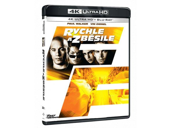 Rychle a zběsile (4k Ultra HD Blu-ray + Blu-ray)