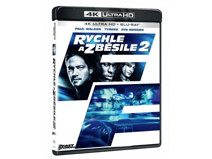 Rychle a zběsile 2 (4k Ultra HD Blu-ray + Blu-ray)