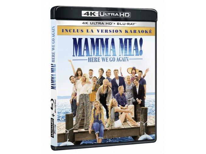 Mamma Mia! Here We Go Again (4k Ultra HD Blu-ray + Blu-ray)