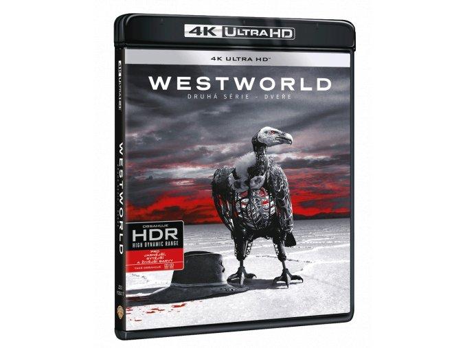 Westworld - 2. sezóna (3x 4k Ultra HD Blu-ray)