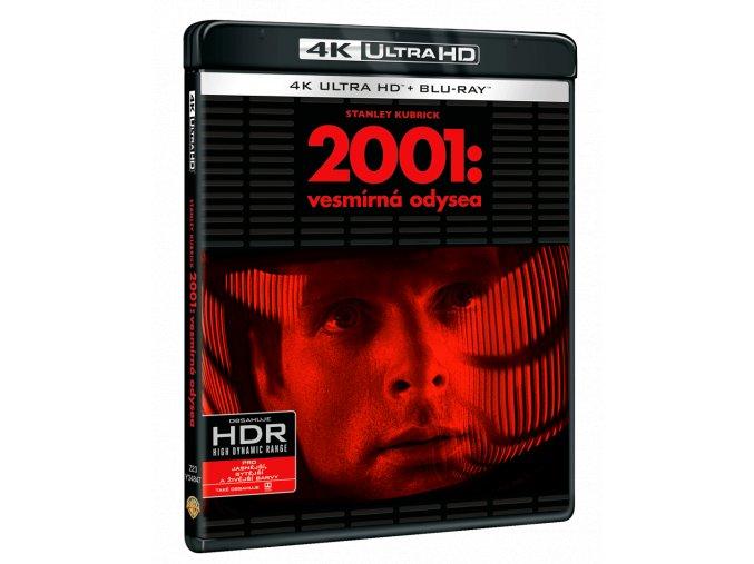 2001: Vesmírná odysea (4k Ultra HD Blu-ray + 2x Blu-ray)