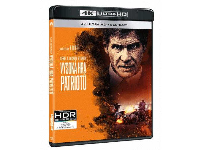 Vysoká hra patriotů (4k Ultra HD Blu-ray + Blu-ray)
