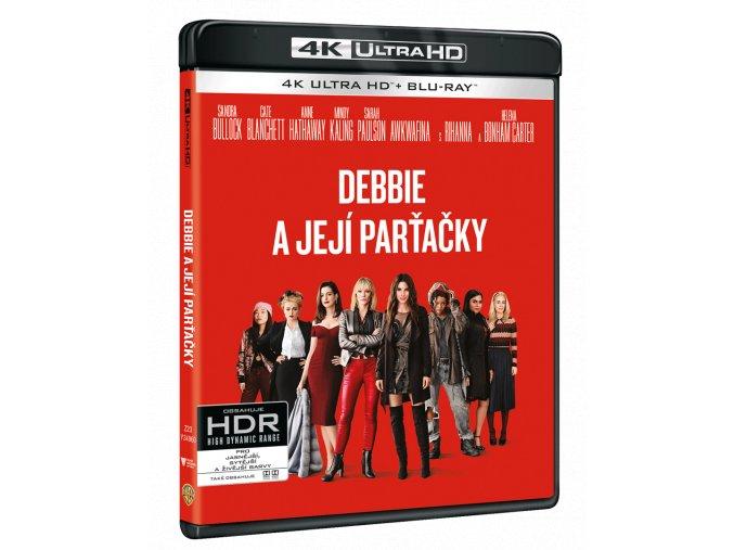 Debbie a její parťačky (4k Ultra HD Blu-ray + Blu-ray)