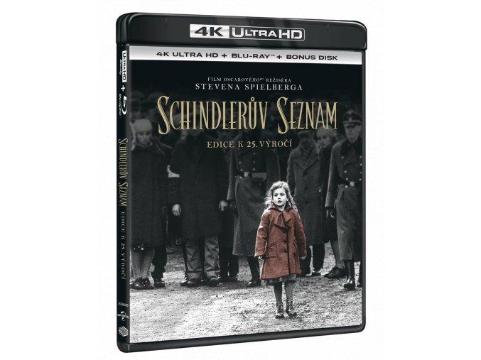 Schindlerův seznam (4k Ultra HD Blu-ray + Blu-ray)