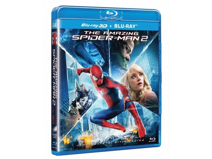 Amazing Spider-Man 2 (Blu-ray 3D + Blu-ray 2D)