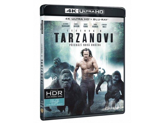 Legenda o Tarzanovi (Ultra HD Blu-ray + Blu-ray)